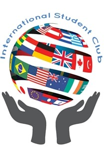 the logo for International Students Club